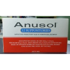 Anusol Suppositories for prompt relief of haemorrhoidal discomfort × 12