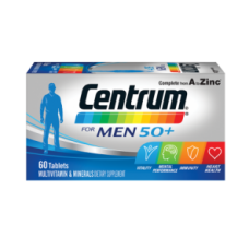 Centrum for Men 50+. Multivitamin & Minerals, Dietary Supplement