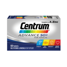 Centrum ADVANCE 50+ for adults, Multivitamin & Minerals, Dietary Supplement