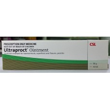 Intendis Ultraproct ointment for treatment of Haemorrhoids, superficial anal fissures  & proctitis, 30g