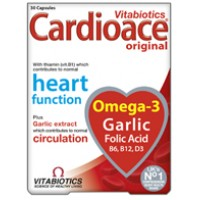 Vitabiotics Cardioace original, with Thiamin (Vit B1) for normal heart function