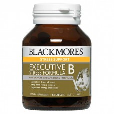 Blackmores Executive B Stress Formula, Dietary supplement, TAB × 62